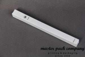 جعبه مقوایی مداد ایندربرد چاپ تک رنگ